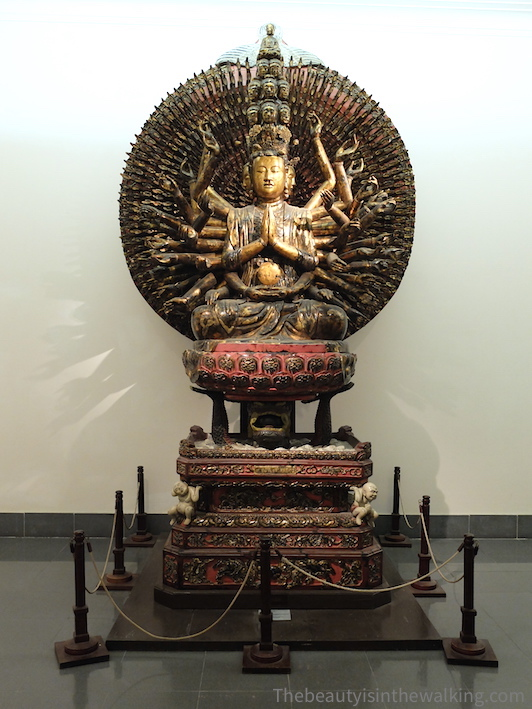 Goddess of Mercy (Kouan Yi), Museum of Fine Arts, Hanoi