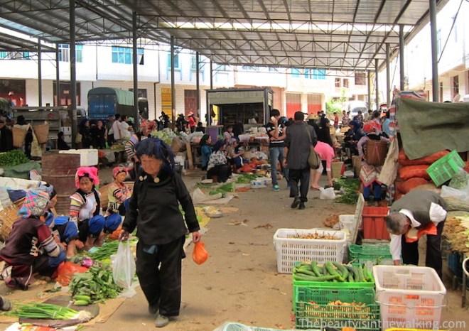 Shen Cun market