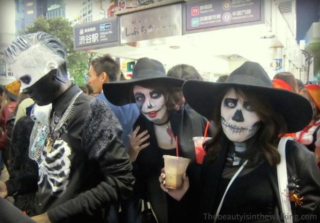 Squelettes - Halloween 2015