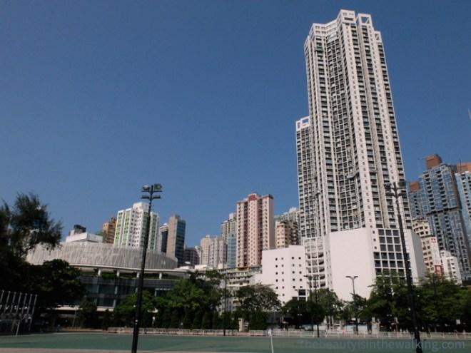 Terrain de sport à Hong Kong
