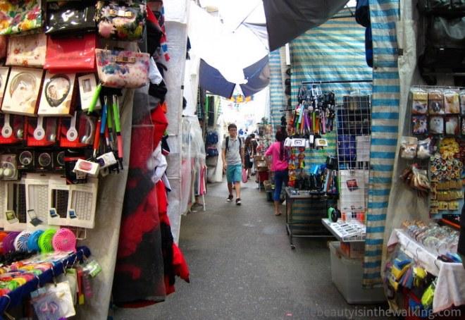 Mongkok market - Hong Kong