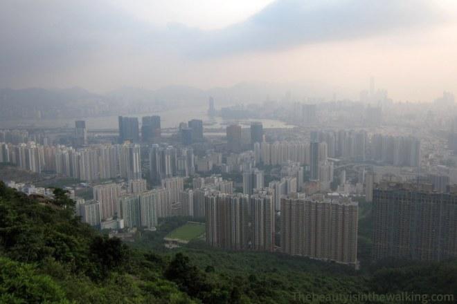 The bay of Hong Kong