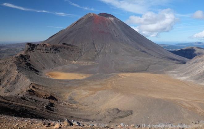 Cratère Sud et Mont Ngauruhoe, Tongariror Crossing