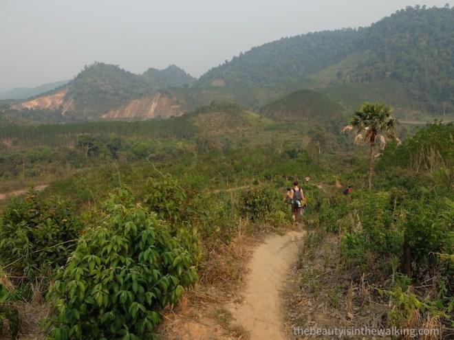Trek près de Luang Namtha, Laos