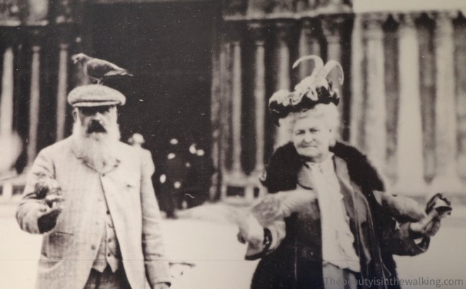 Monet and Alice, his second wife in Italy.