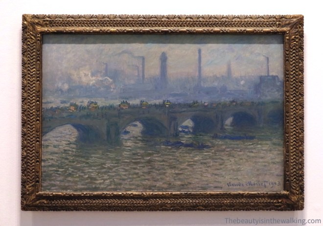 Waterloo Bridge, Overcast, 1903, Ordrupgaard