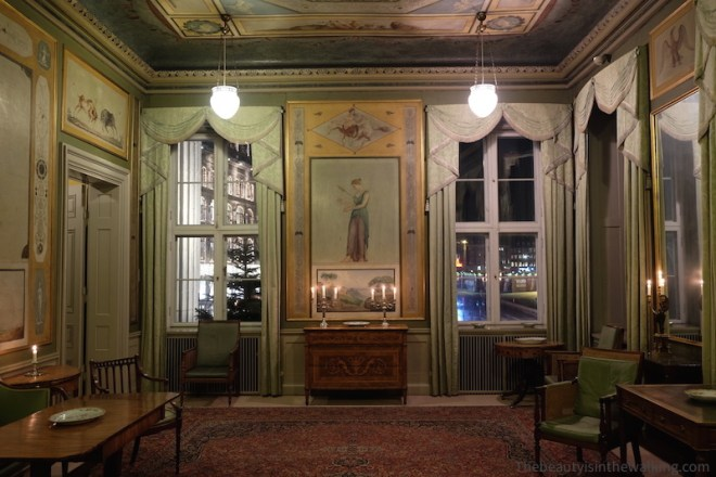 Smooking room, Erichsen's Mansion, Copenhagen