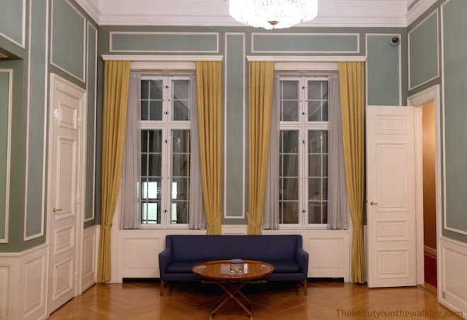 Salle de réception, palais Erichsen, Copenhague