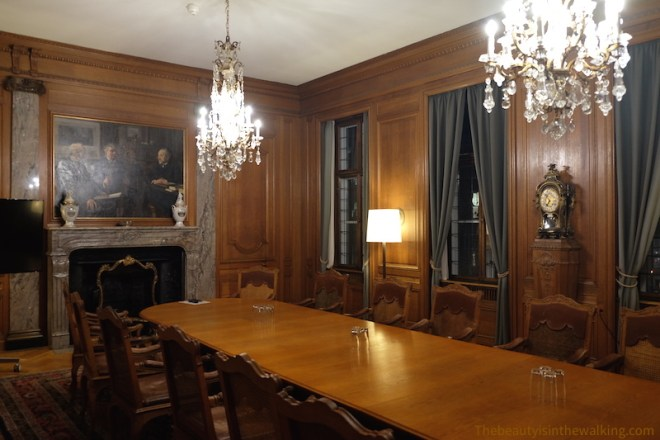 Meeting room, Erichsen's Mansion, Copenhagen
