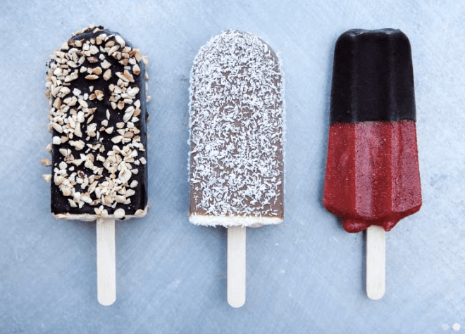 Popsicles from Olufs Is, Copenhagen