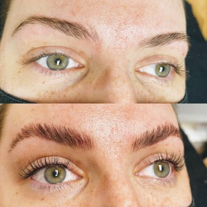 eyelash lift at the beauty refinery