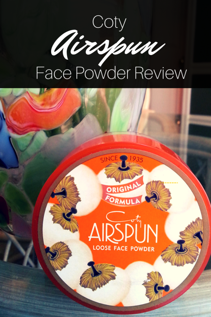 Review: Coty Airspun Face Powder