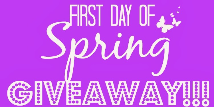 First day of Spring GIVEAWAY!!!