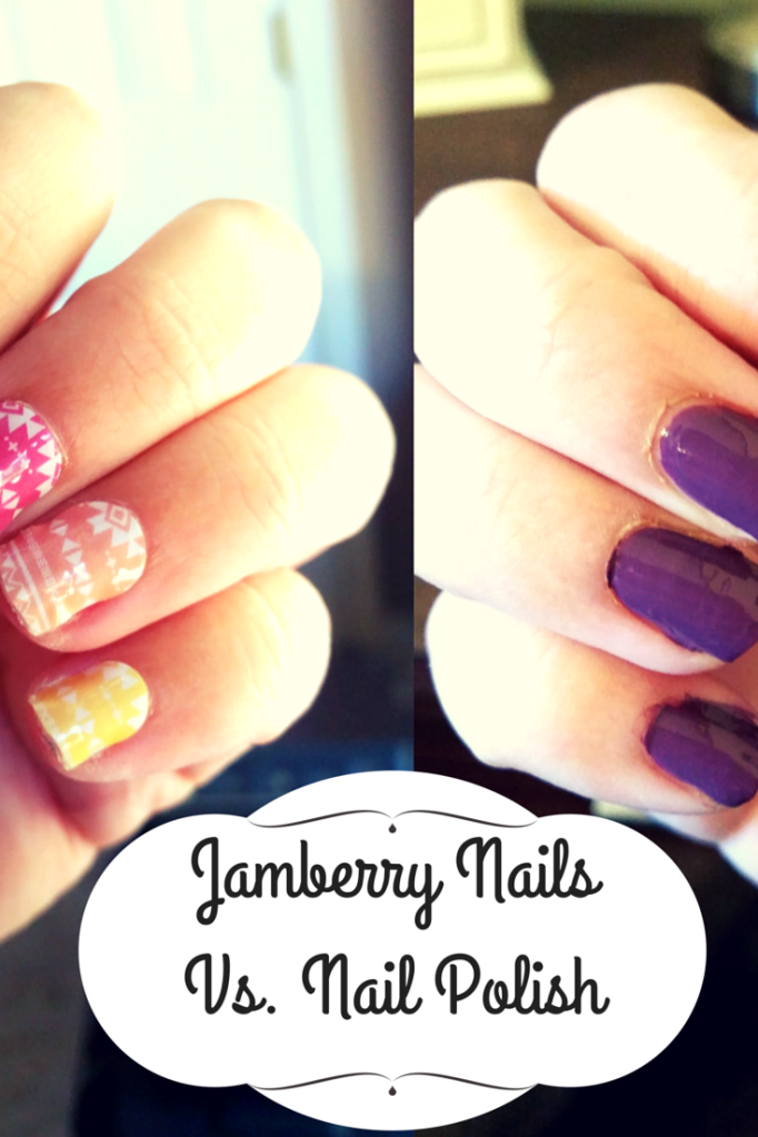 Jambery Nails Vs. Nail Polish. Is it worth the time and money?