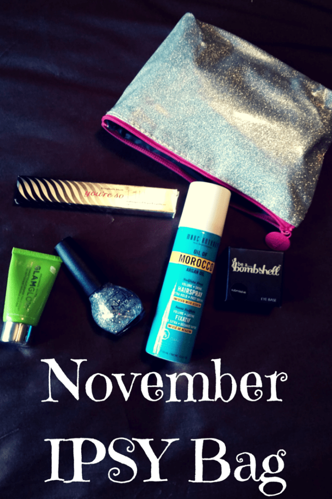 November IPSY Bag, so many makeup goodies for just $10 a month