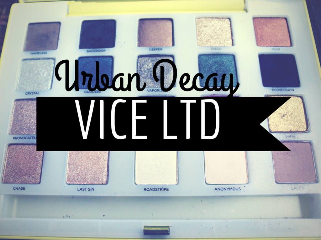 Urban Decay Vice LTD Eye Shadow Palette Review and Swatches