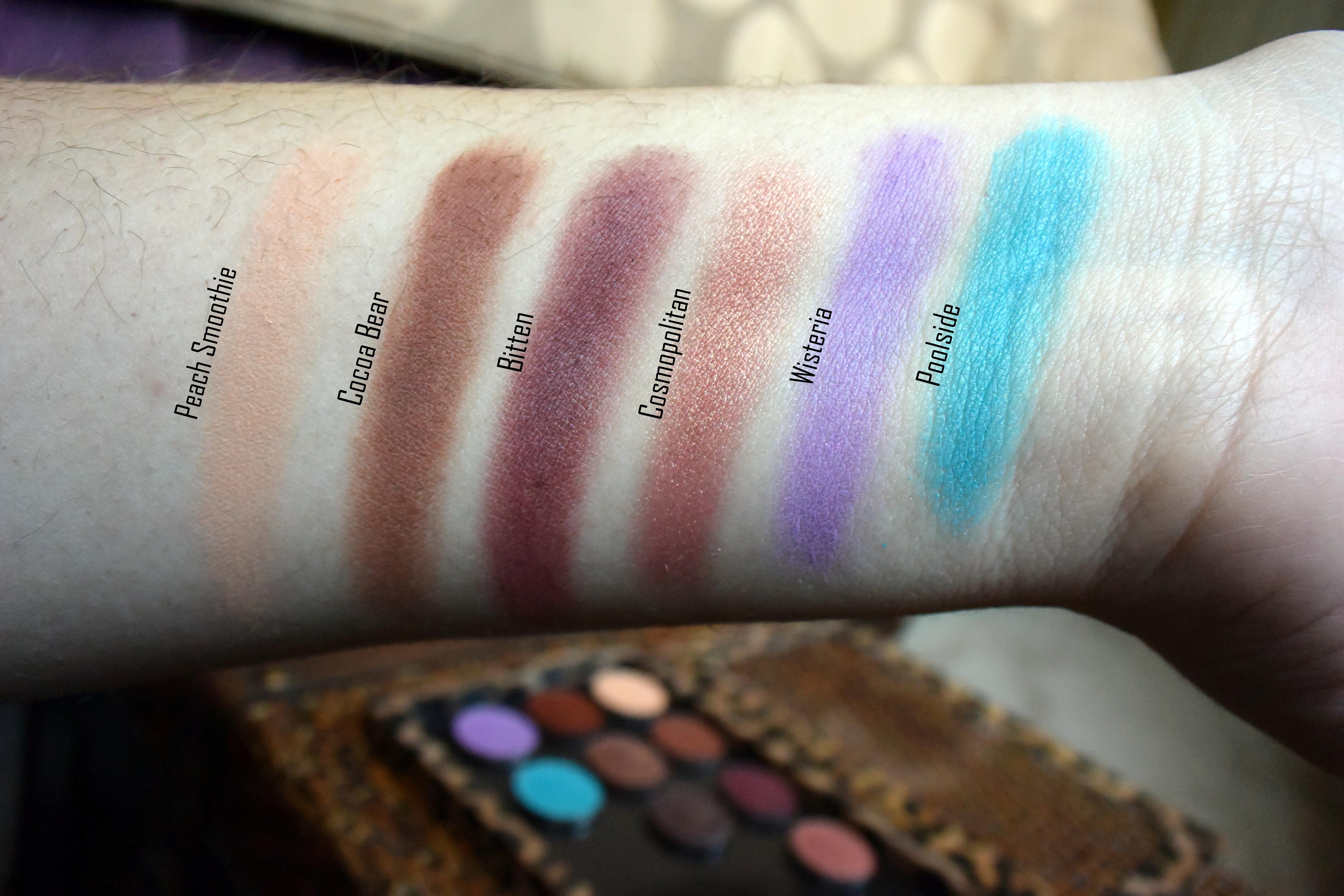 Makeup Geek Eye Shadow Haul, very comparable to MAC eye shadows.