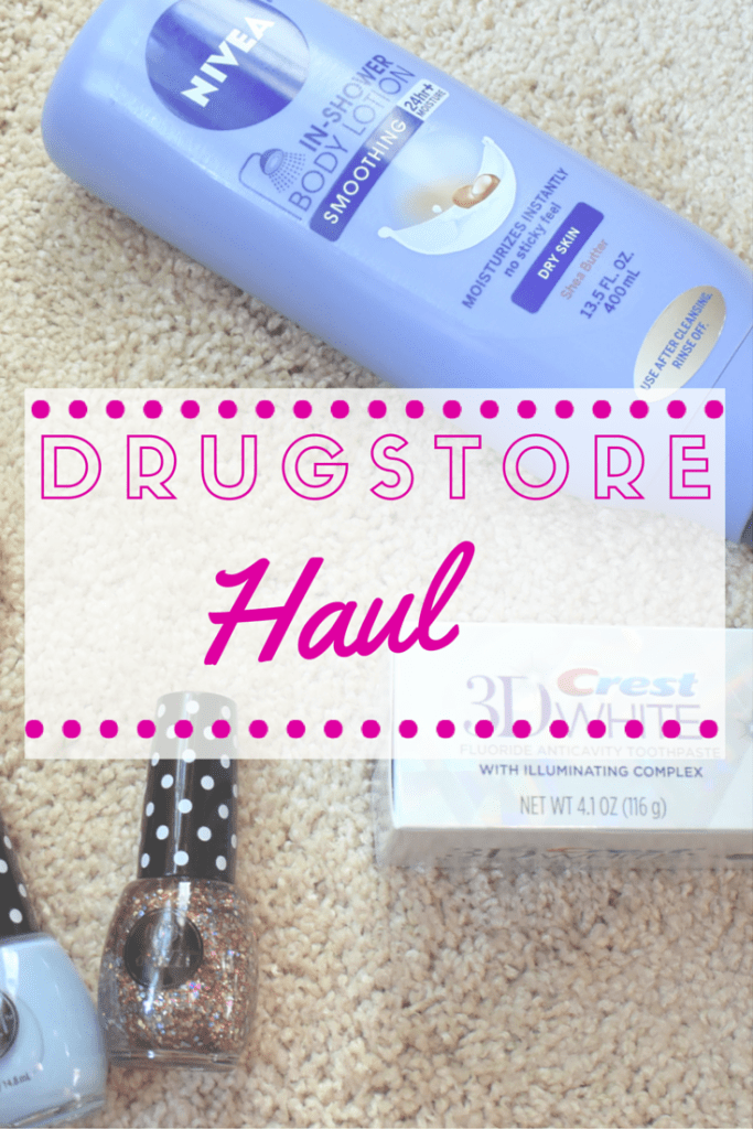 Drugstore Beauty Haul | Nails | Nail Polish | Lotion | Toothpaste