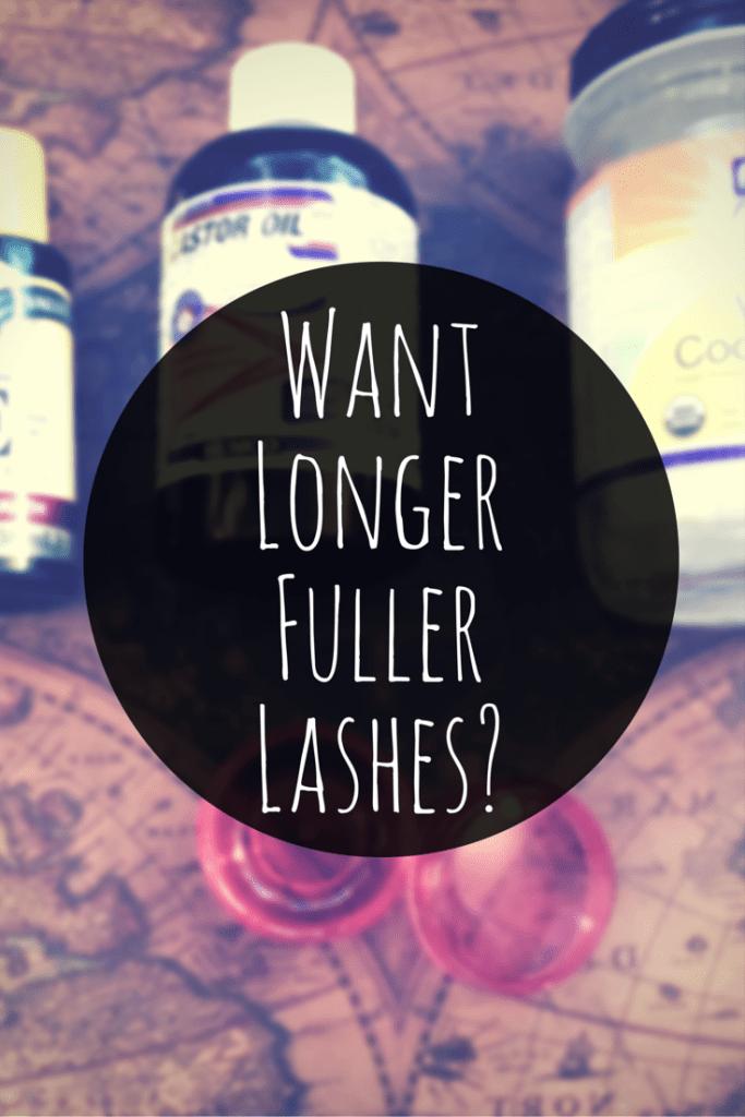 Want Longer Fuller Lashes?