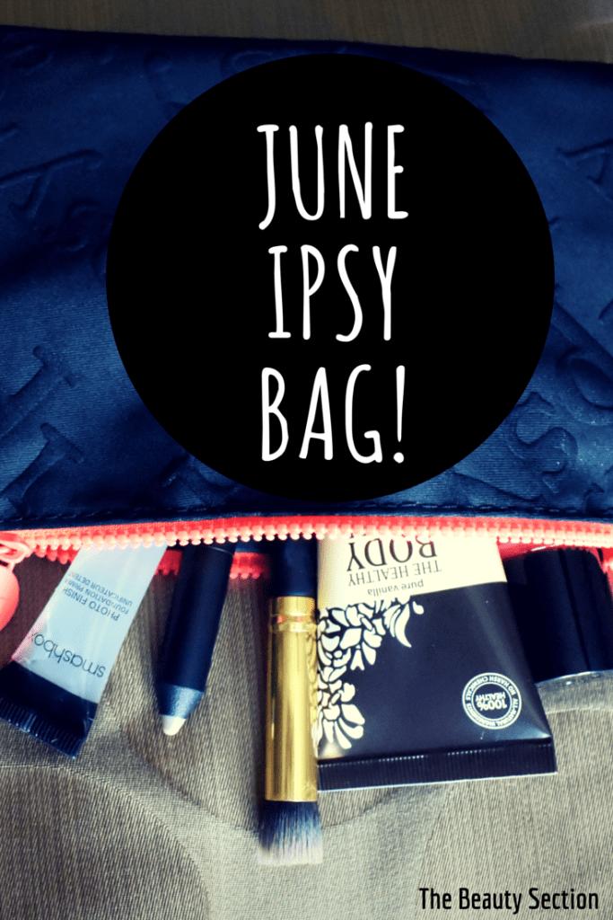 June IPSY Bag // 2015