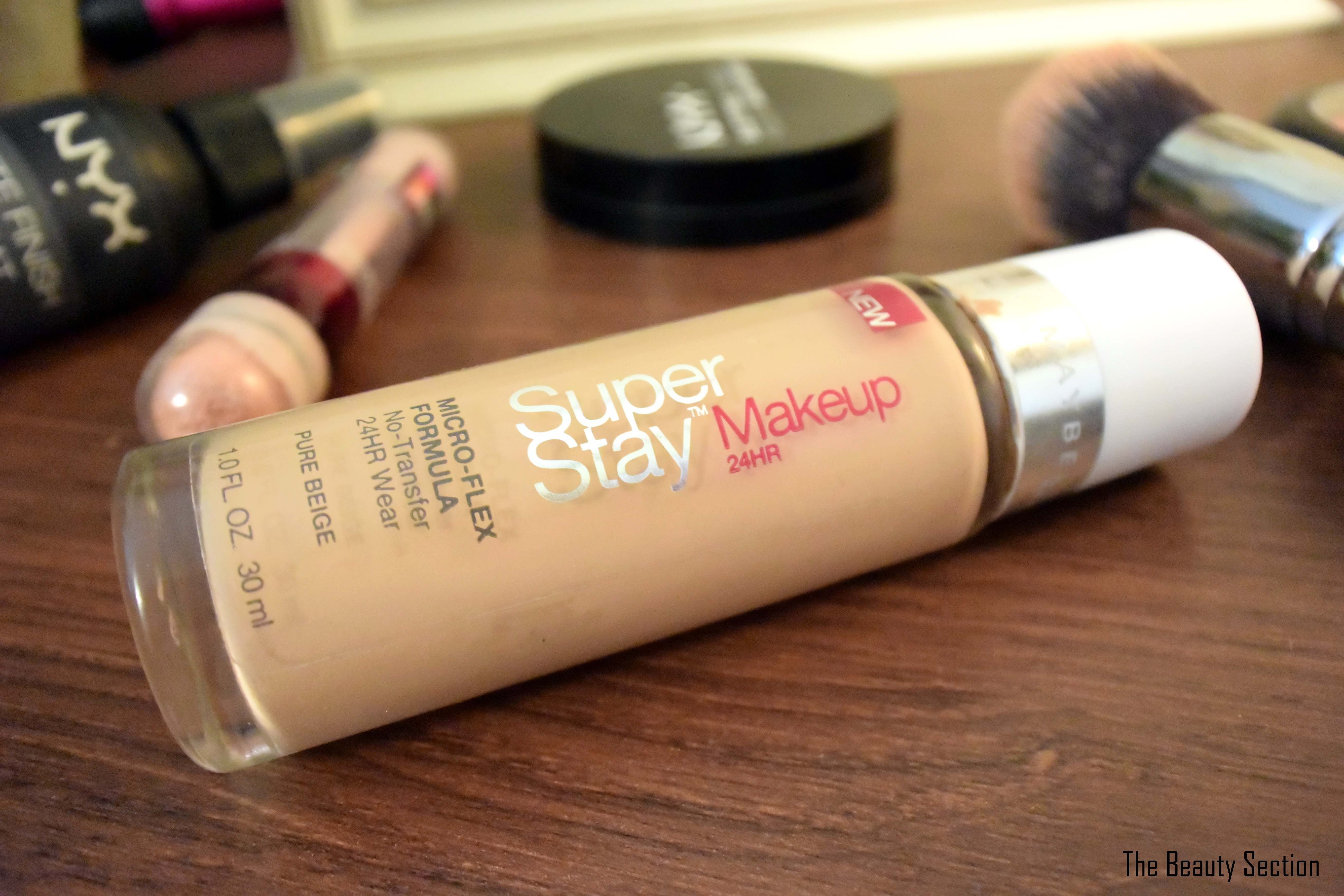 Maybelline Super Stay Foundation Review. Perfect for the hot summer or anyone with oily skin.