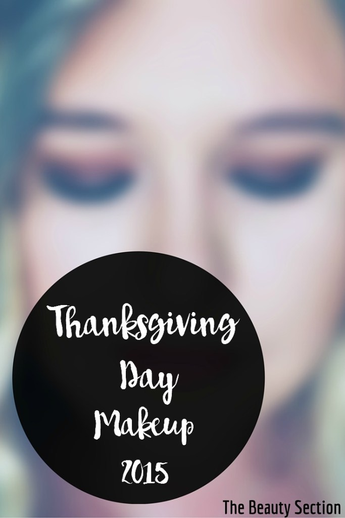 Thanksgiving Day Makeup 2015
