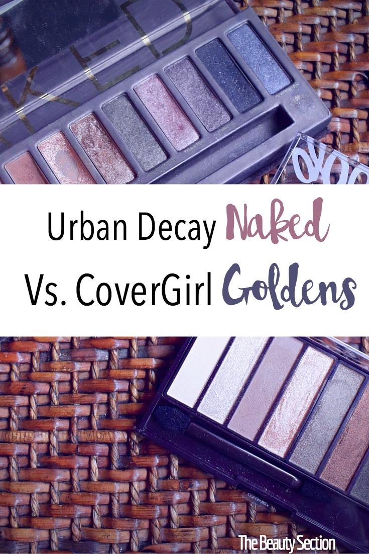 Urban Decay Naked Vs. CoverGirl Goldens | Eyeshadow Palette