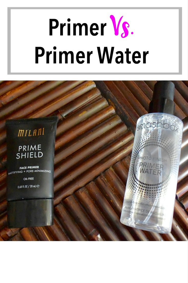 Primer Vs. Primer Water   What are the differences, and which one works for you