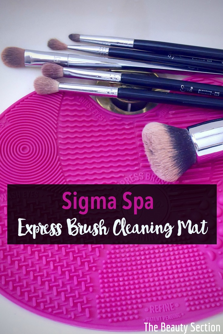 Sigma Spa Express Cleaning Mat