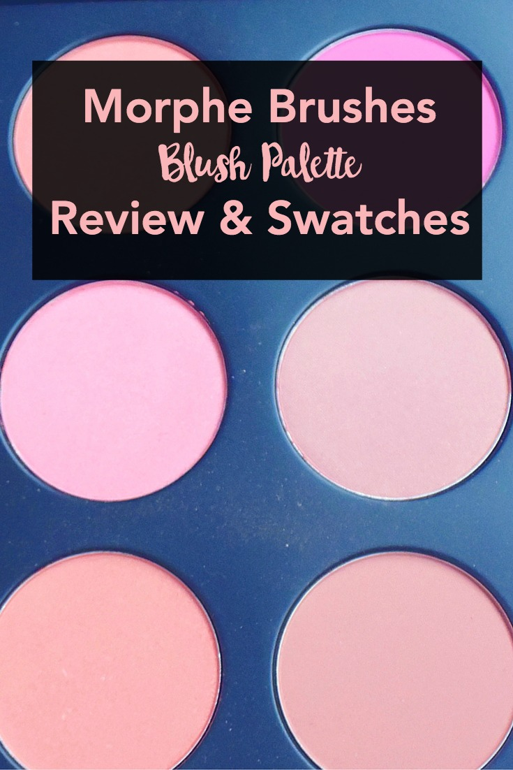 Morphe Blushes Palette Review & Swatches