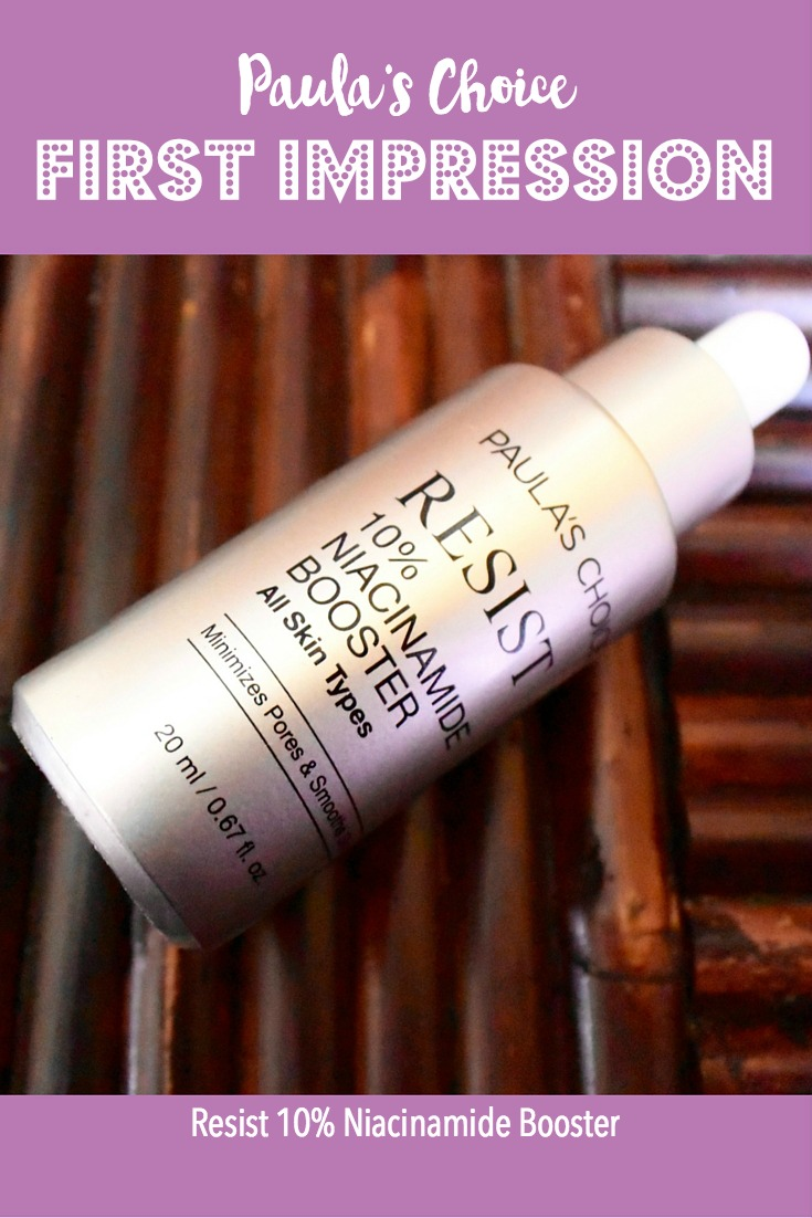 Paula's Choice First Impression on the Resist 10% Niacinamide