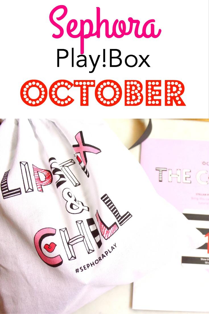October Sephora Play! Box | Makeup | Haircare | Skincare | Perfume