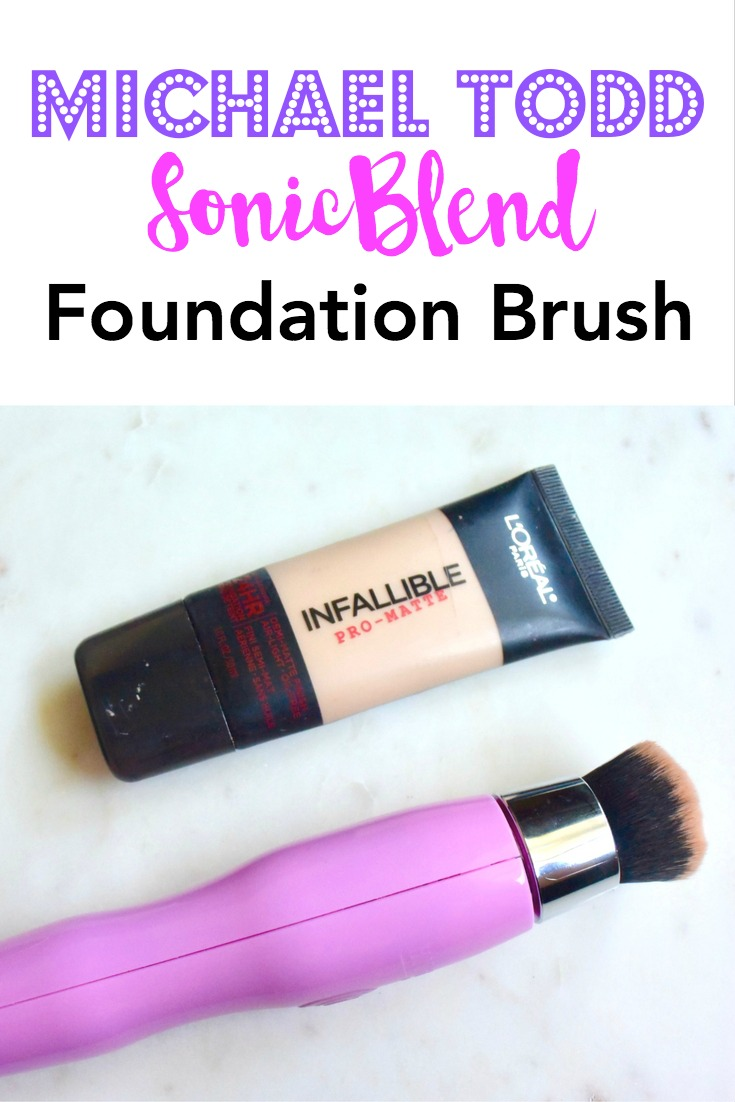 Michael Todd SonicBlend Foundation Brush