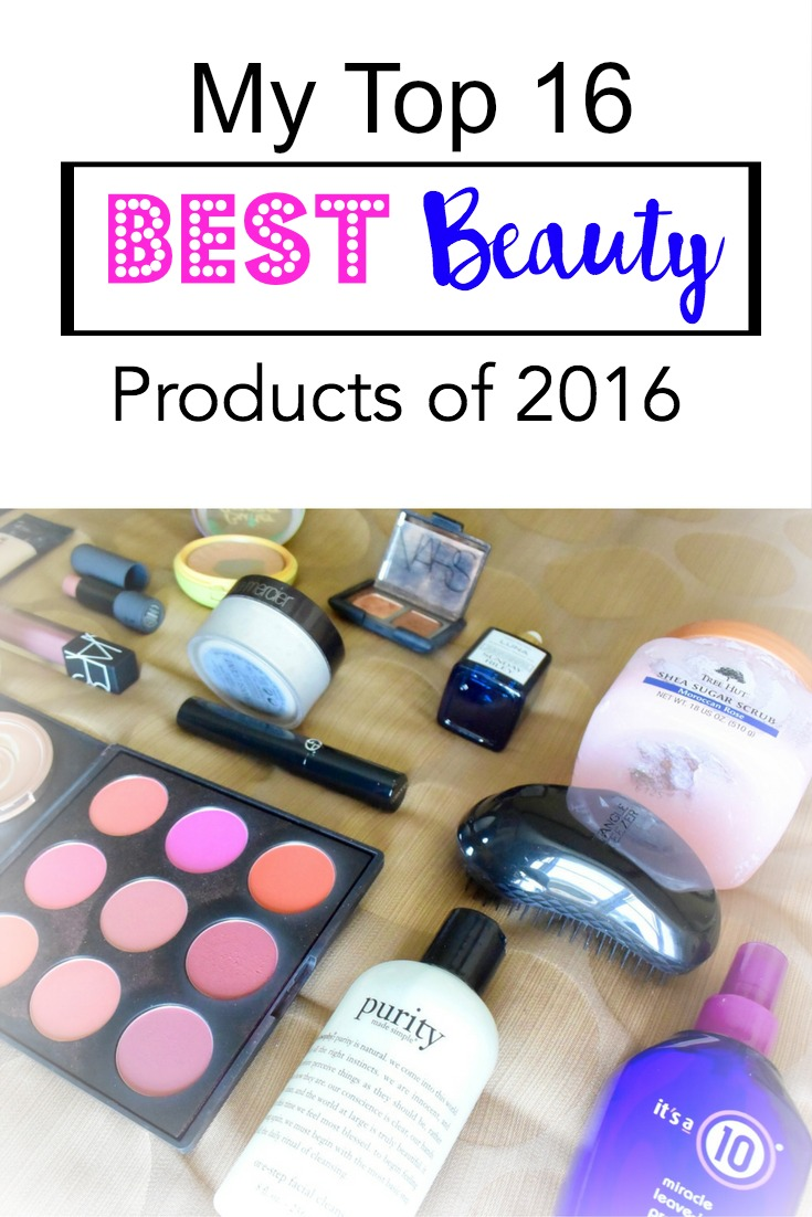 My Top 16 Beauty Products of 2016