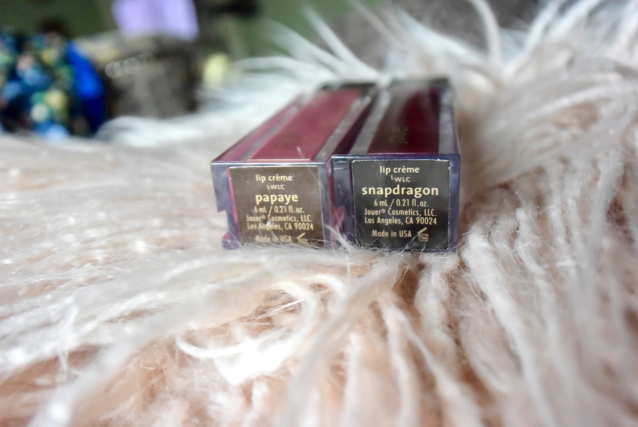 Jouer Metallic Liquid Lipstick | Papaya & Snapdragon
