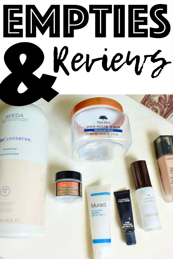 Empties & Reviews
