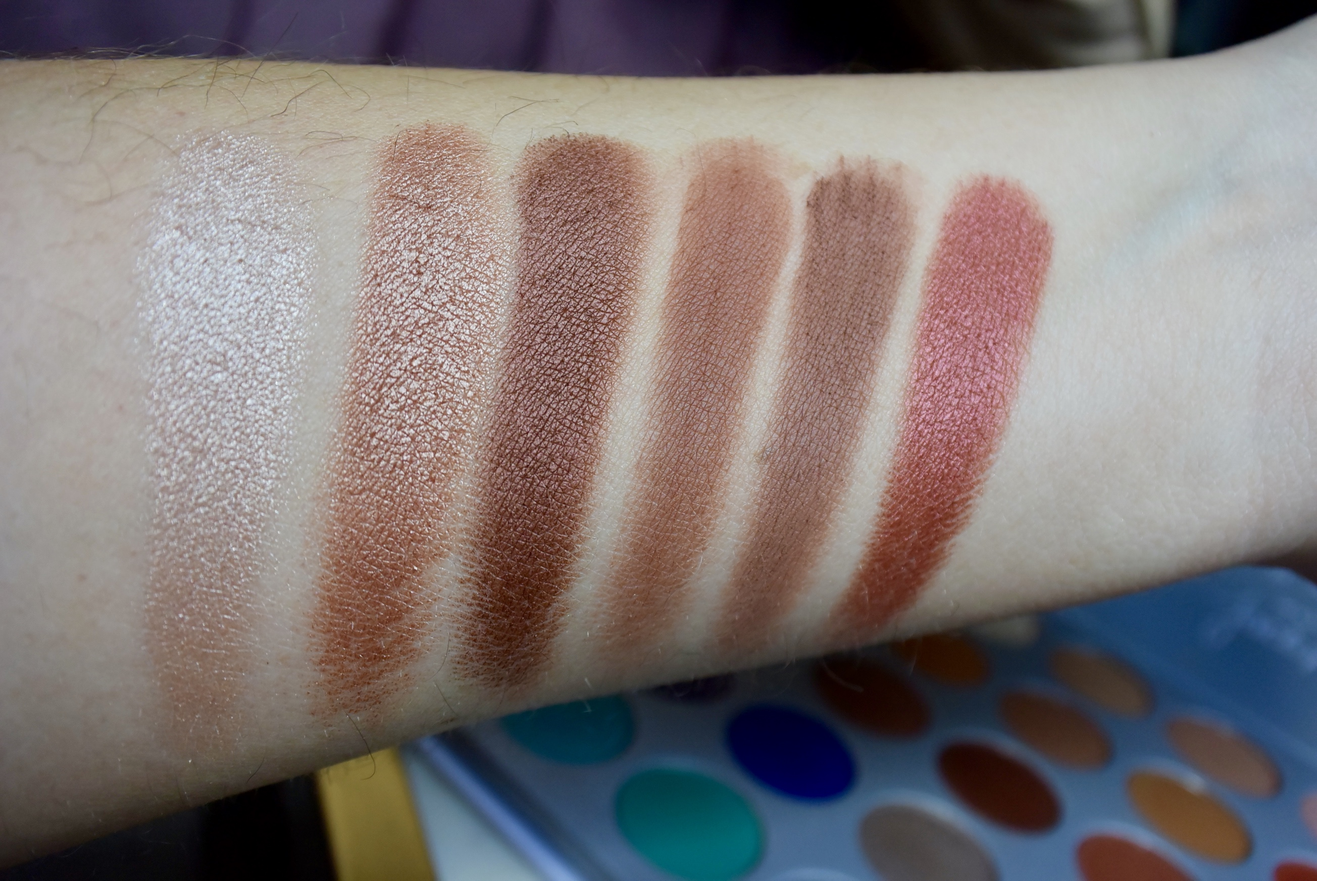 Jaclyn Hill Palette Review