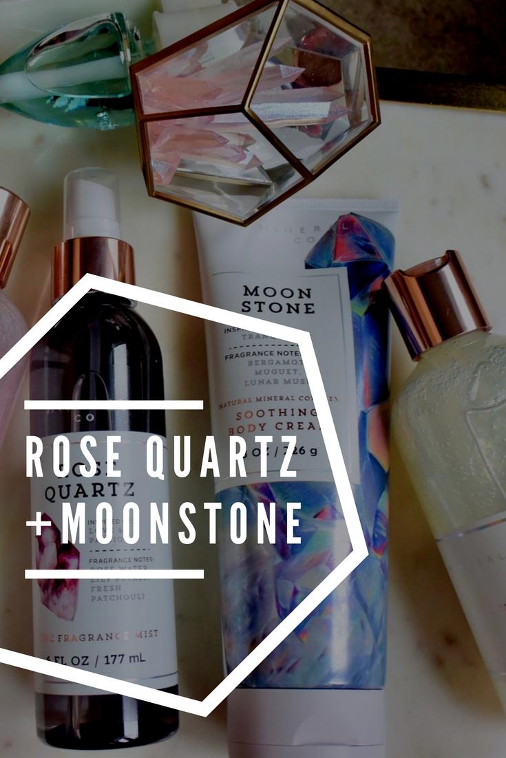 Rose Quartz + Moonstone