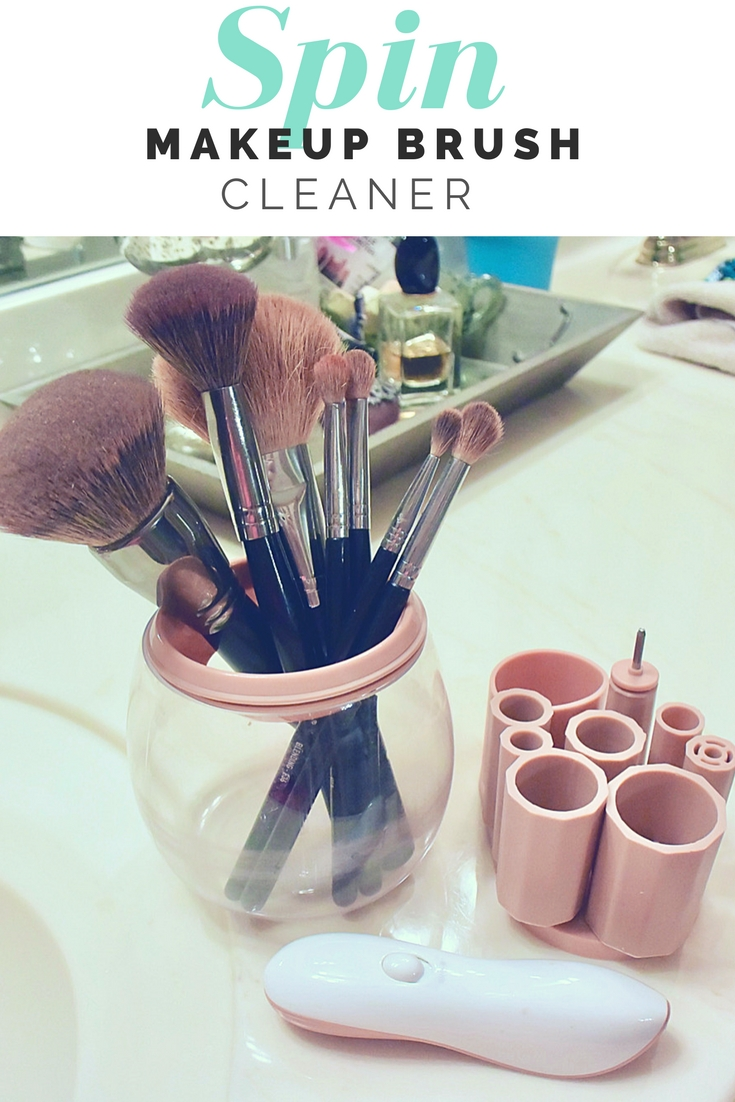 Spin Brush For Bathroom: Spin Makeup Brush Cleaner