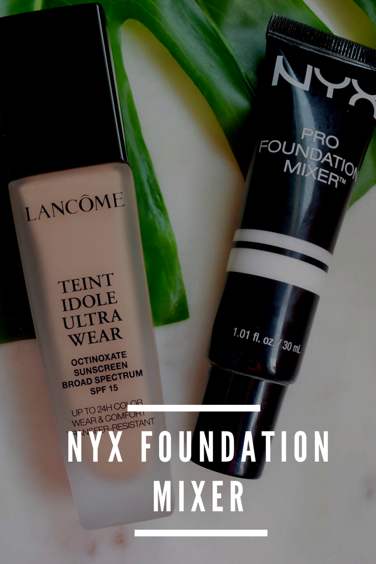 NYX Foundation Mixer | Make your foundation always match you, at any skin tone.