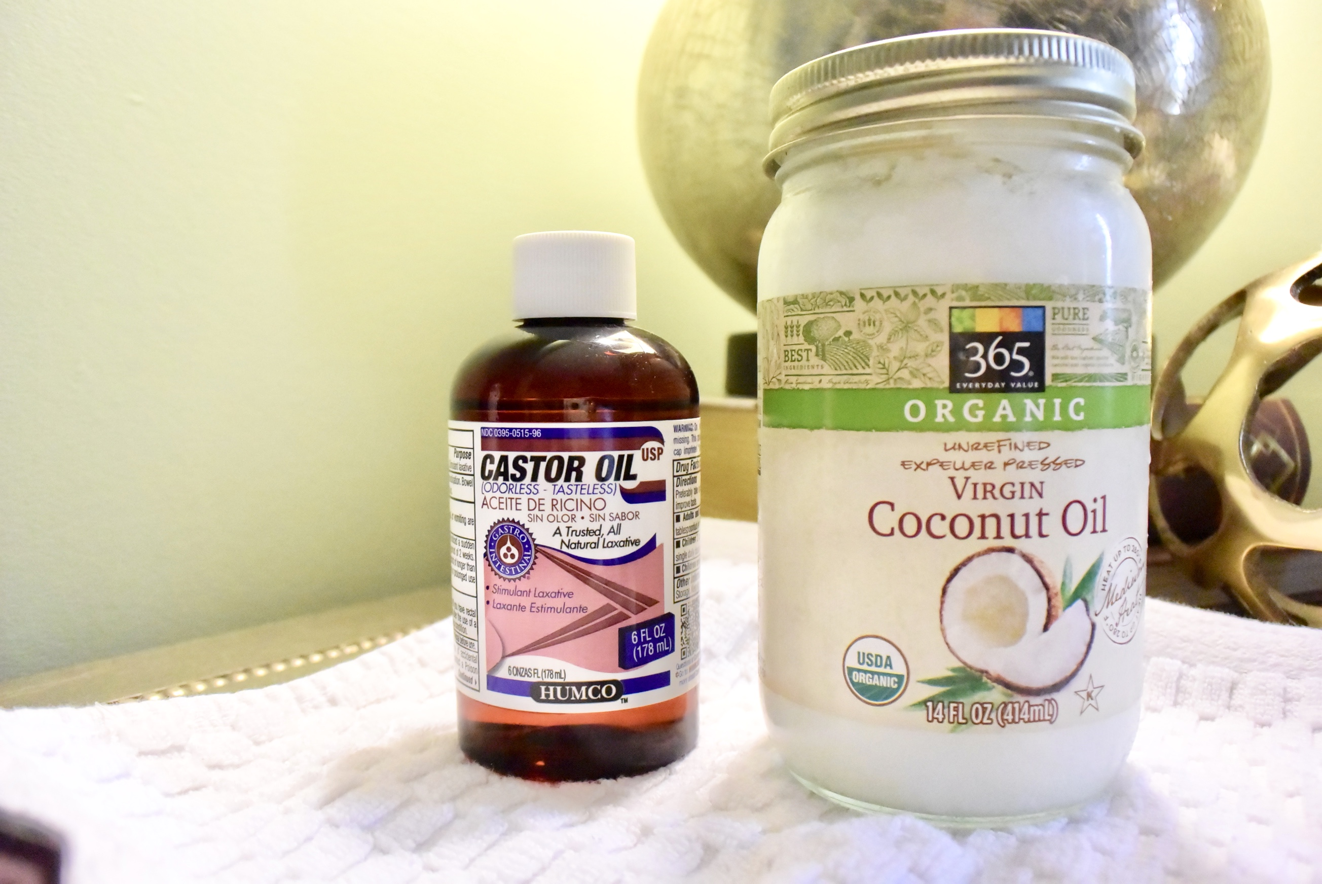 DIY Nourishing Hair Mask | Coconut Oil + Castor Oil