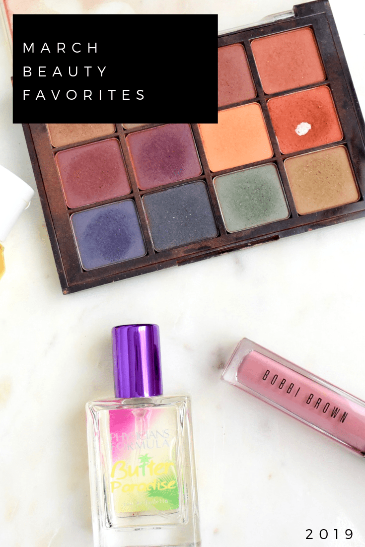 March Beauty Favorites 2019 | Skincare | Makeup | Perfume