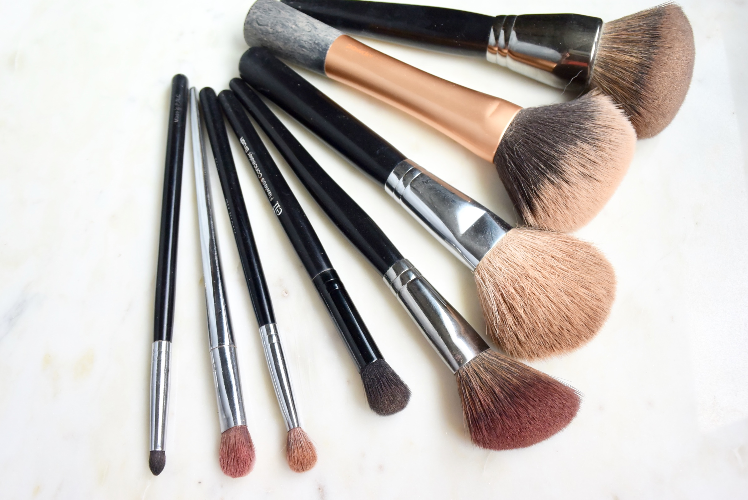 My Top Makeup Brushes / Face & Eyes