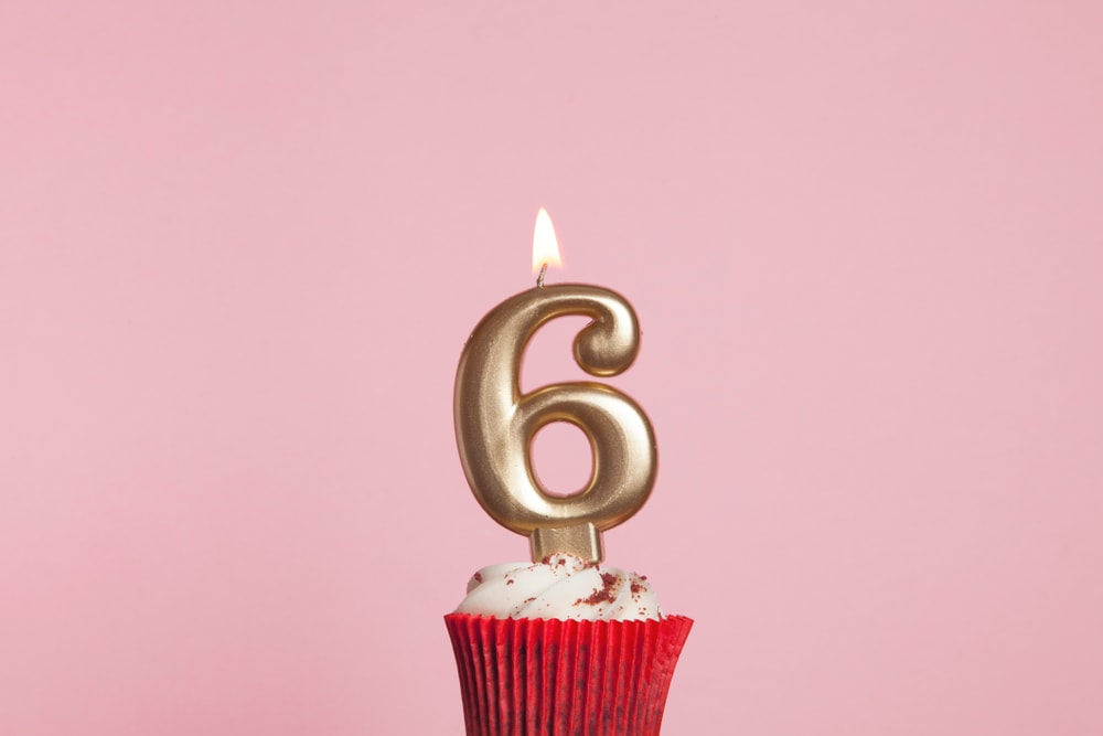 6th Blogiversary