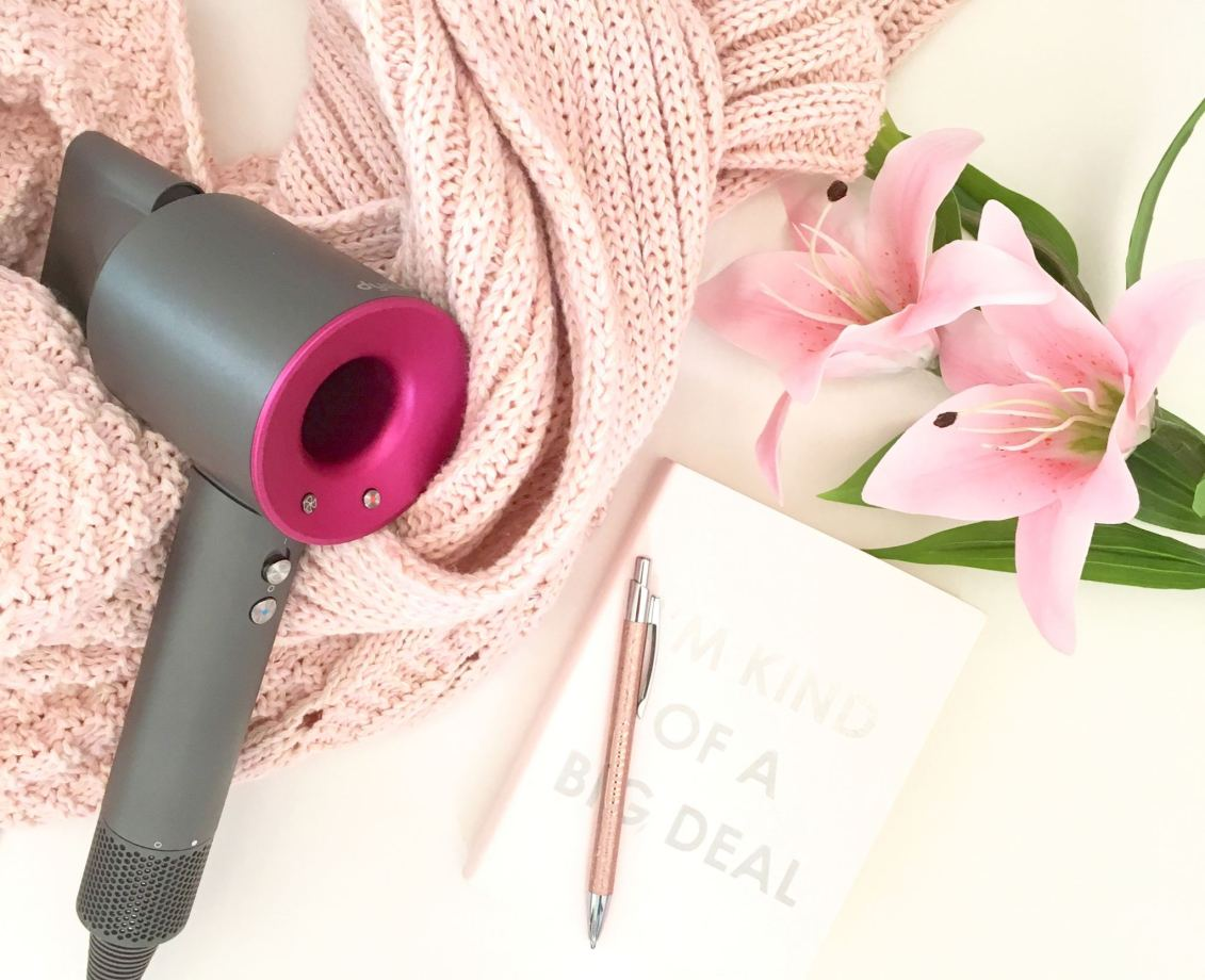 image shows my Dyson hairdryer