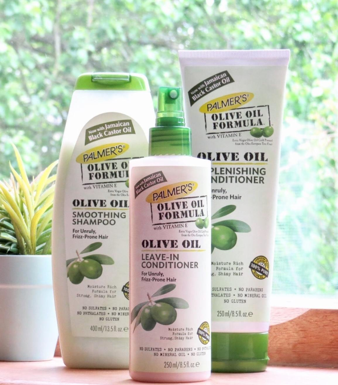 Palmers Olive oil shampoo and conditioner review