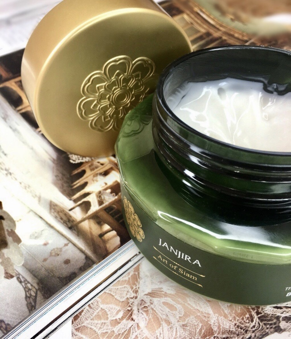 Showing Janjira body butter consistency