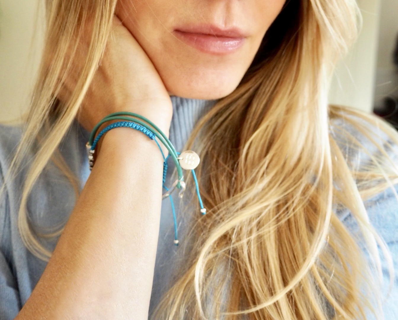Samantha wearing boho Betty 2018 bracelets