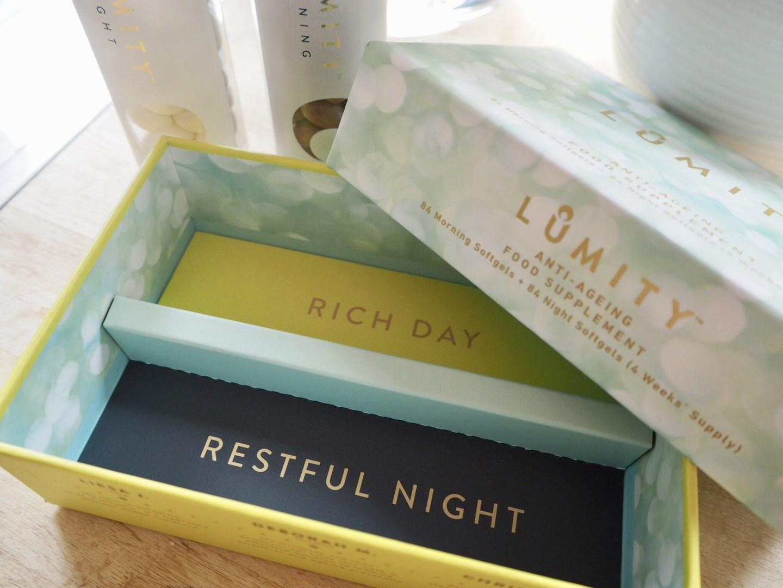 Lumity softgels packaging