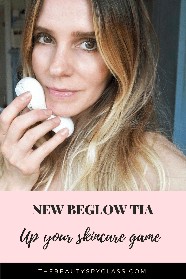 New BeGlow TIA all in one skincare device